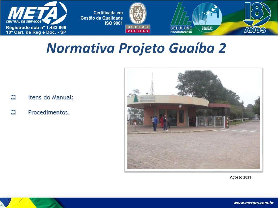 Normativa Projeto Guaíba 2