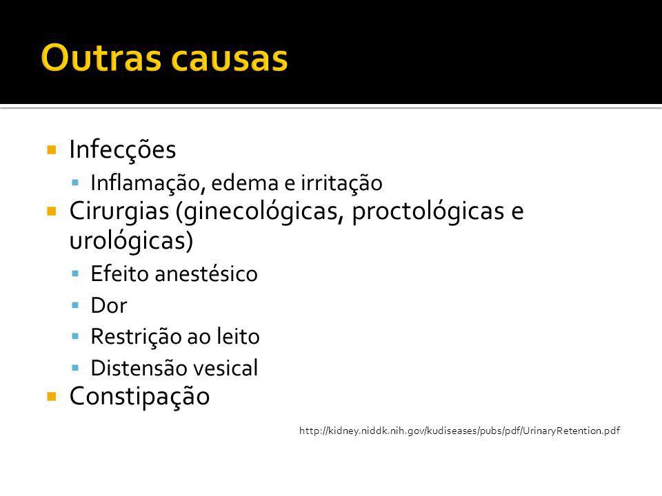 Outras causas Infecções