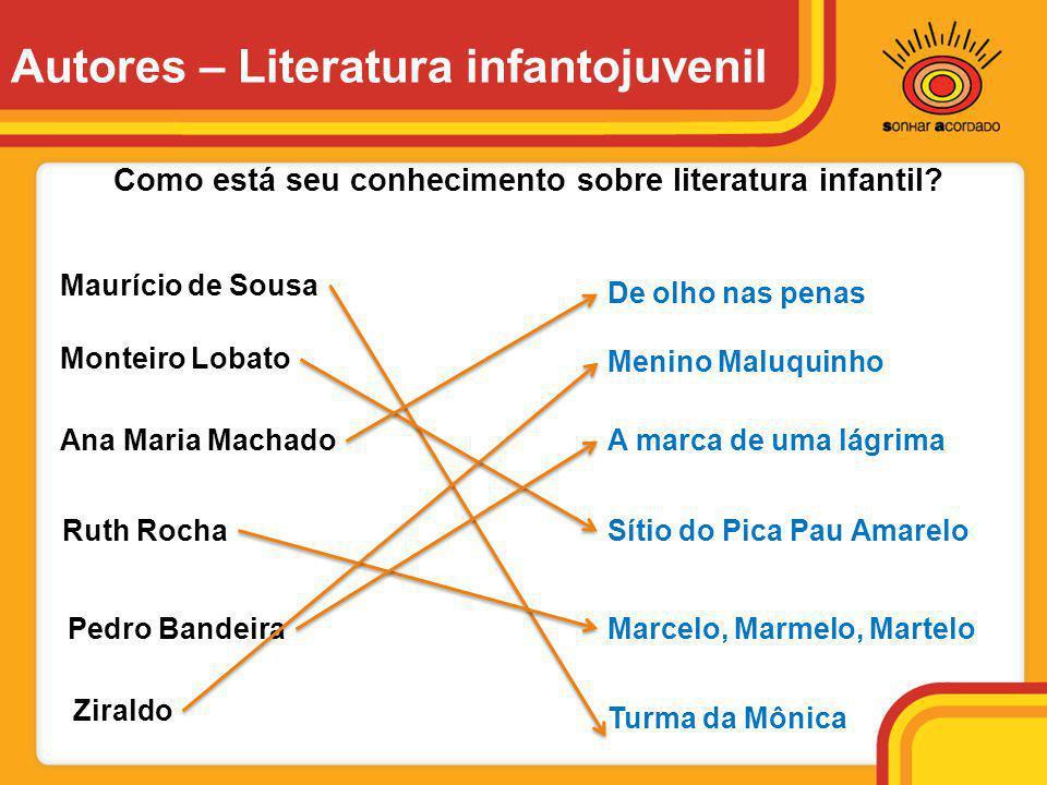 Autores – Literatura infantojuvenil
