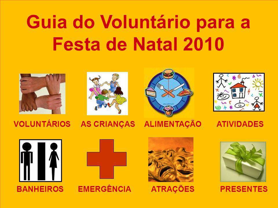 Guia do Voluntário para a Festa de Natal 2010