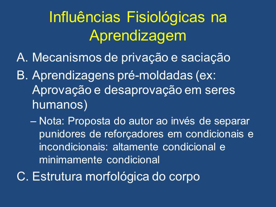 Influências Fisiológicas na Aprendizagem