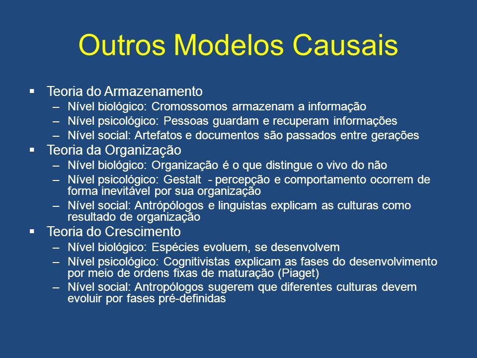 Outros Modelos Causais