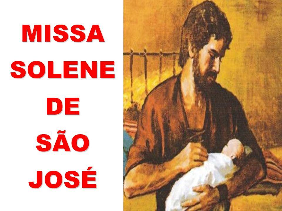 MISSA SOLENE DE SÃO JOSÉ