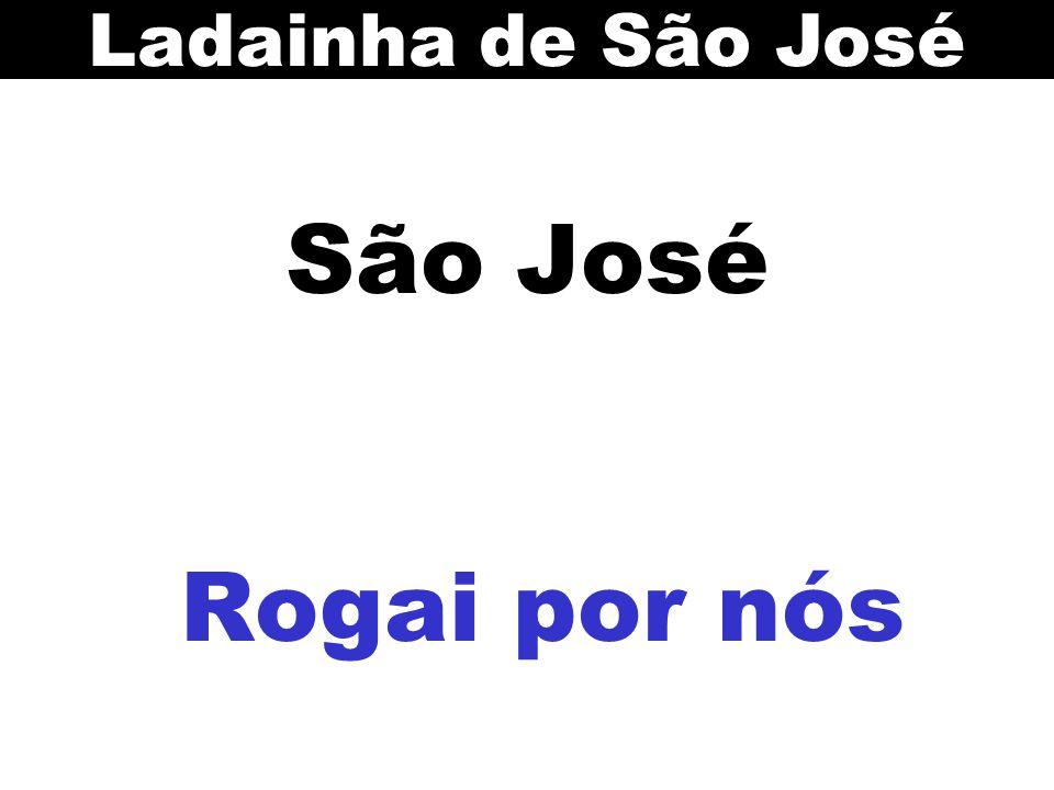 Ladainha de São José São José Rogai por nós