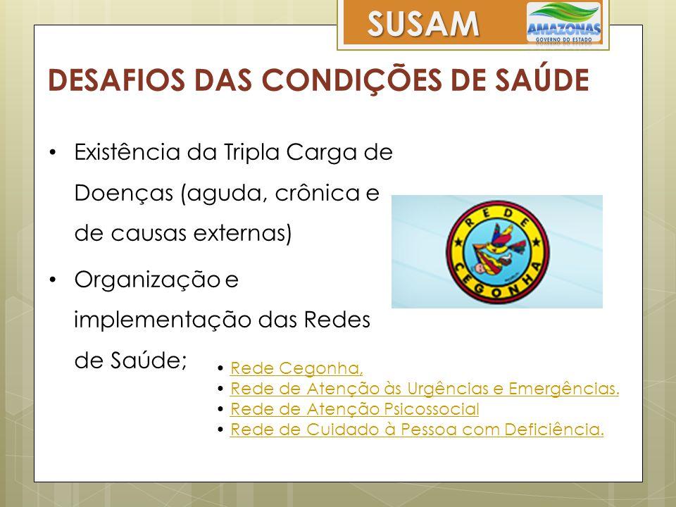 SUSAM DESAFIOS DAS CONDIÇÕES DE SAÚDE
