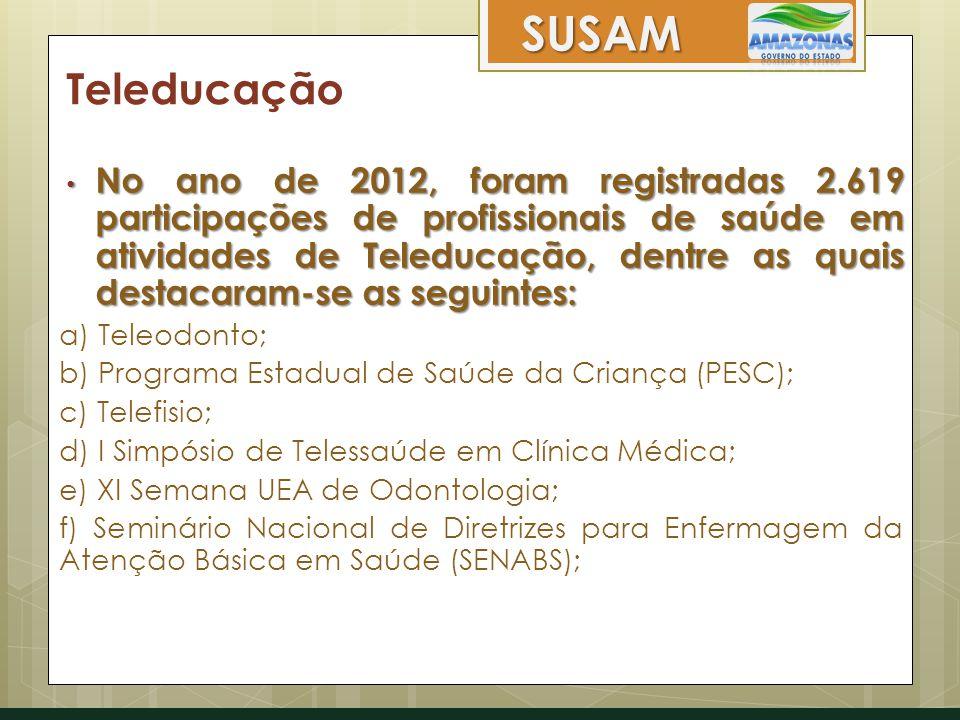 SUSAM Teleducação.