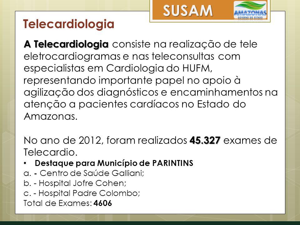 SUSAM Telecardiologia