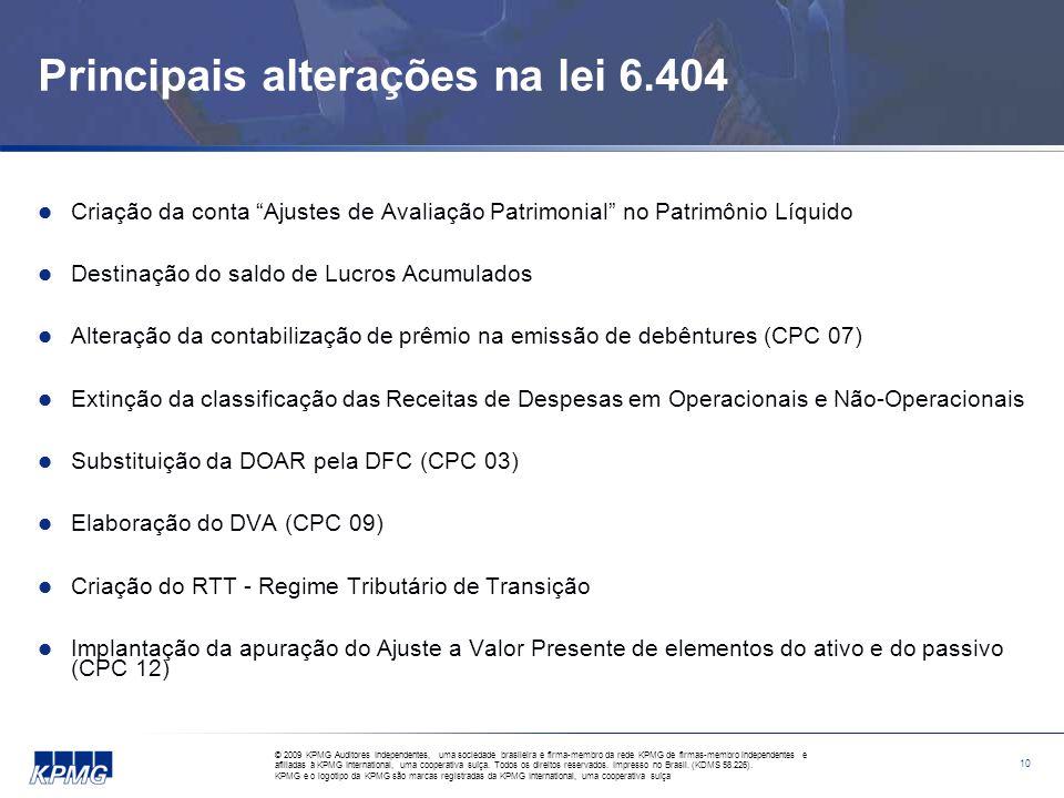 CPC – Estrutura conceitual para elaboração e apresentação das Demonstrações Financeiras