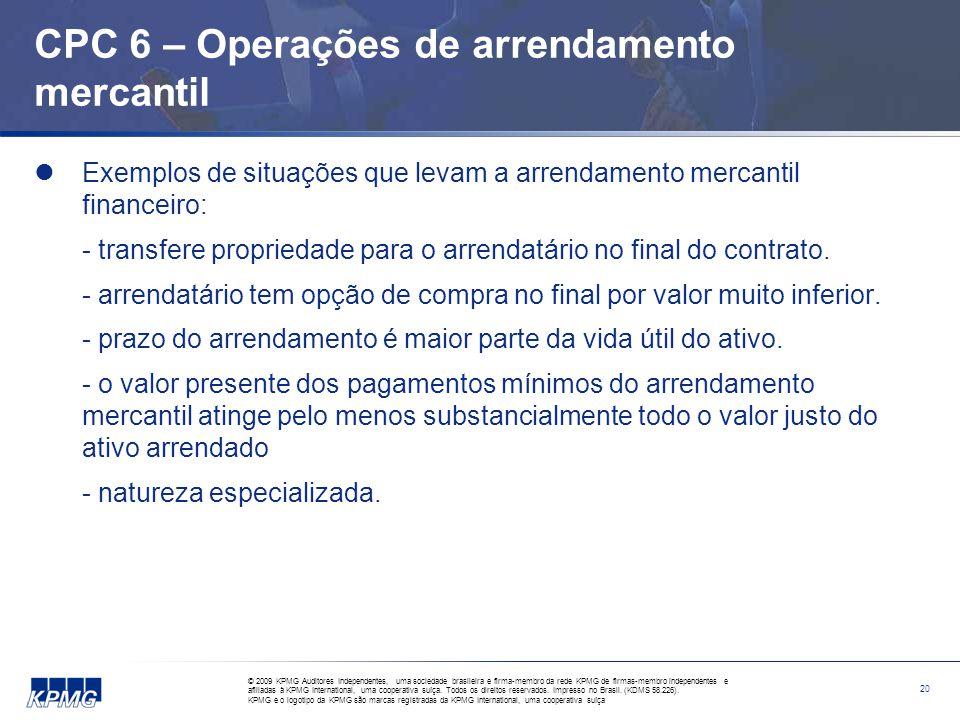 CPC 7 – Subvenção e assistências governamentais