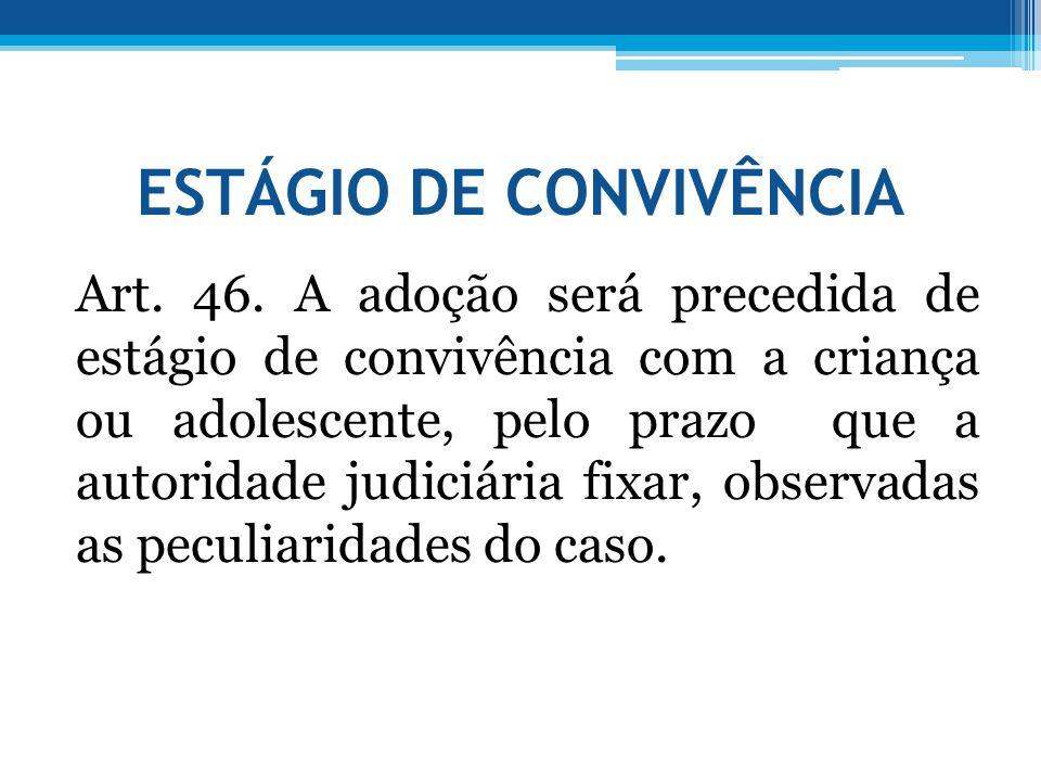 ESTÁGIO DE CONVIVÊNCIA