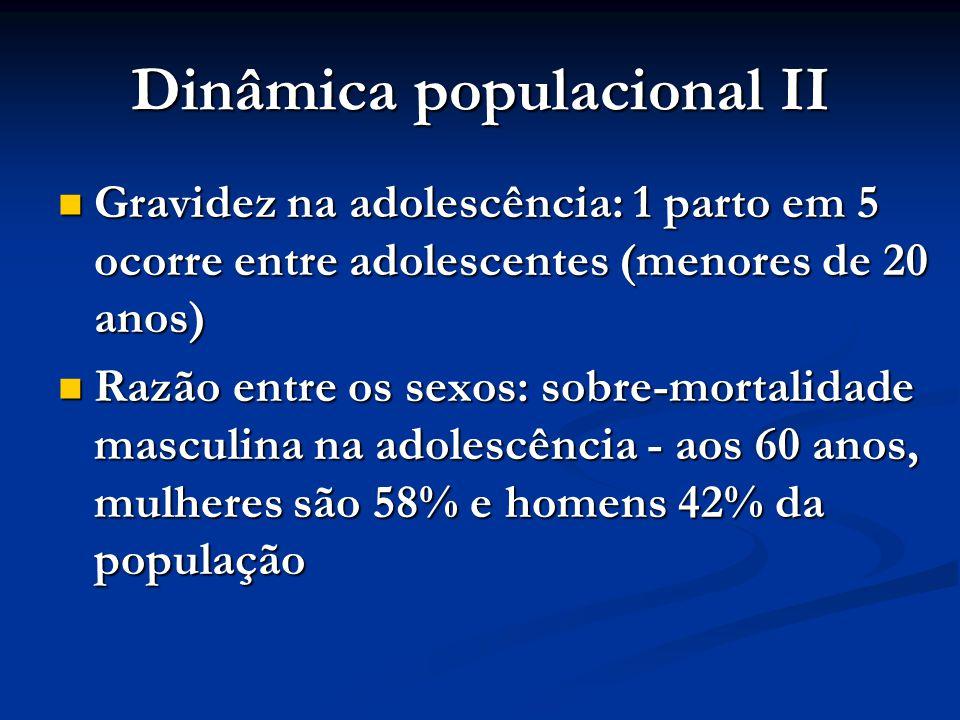 Dinâmica populacional II