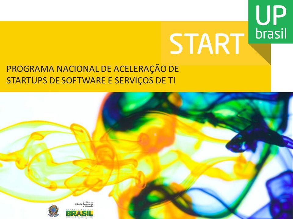 PROGRAMA NACIONAL DE ACELERAÇÃO DE STARTUPS DE SOFTWARE E SERVIÇOS DE TI