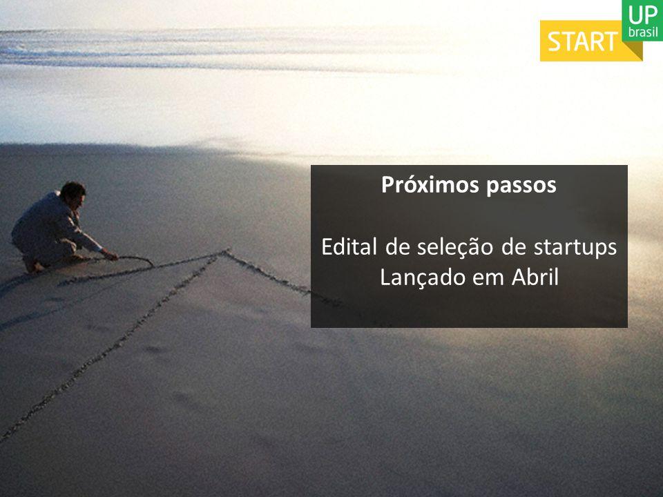 Edital de seleção de startups