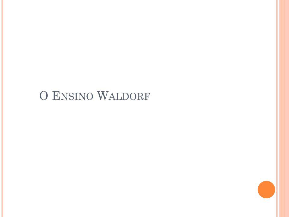 O Ensino Waldorf