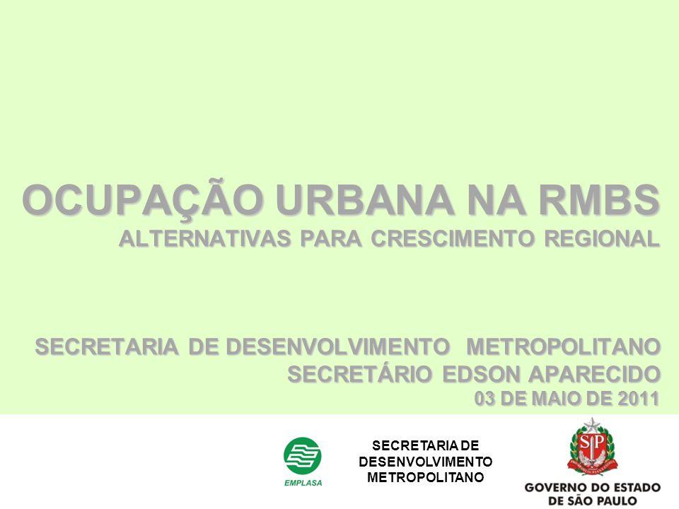 SECRETARIA DE DESENVOLVIMENTO METROPOLITANO