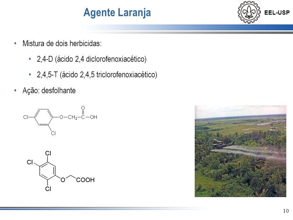 Agente Laranja Mistura de dois herbicidas: