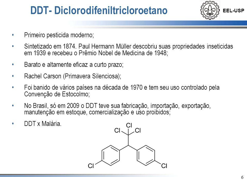 DDT- Diclorodifeniltricloroetano