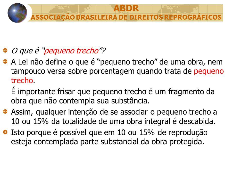 ABDR ASSOCIAÇÃO BRASILEIRA DE DIREITOS REPROGRÁFICOS