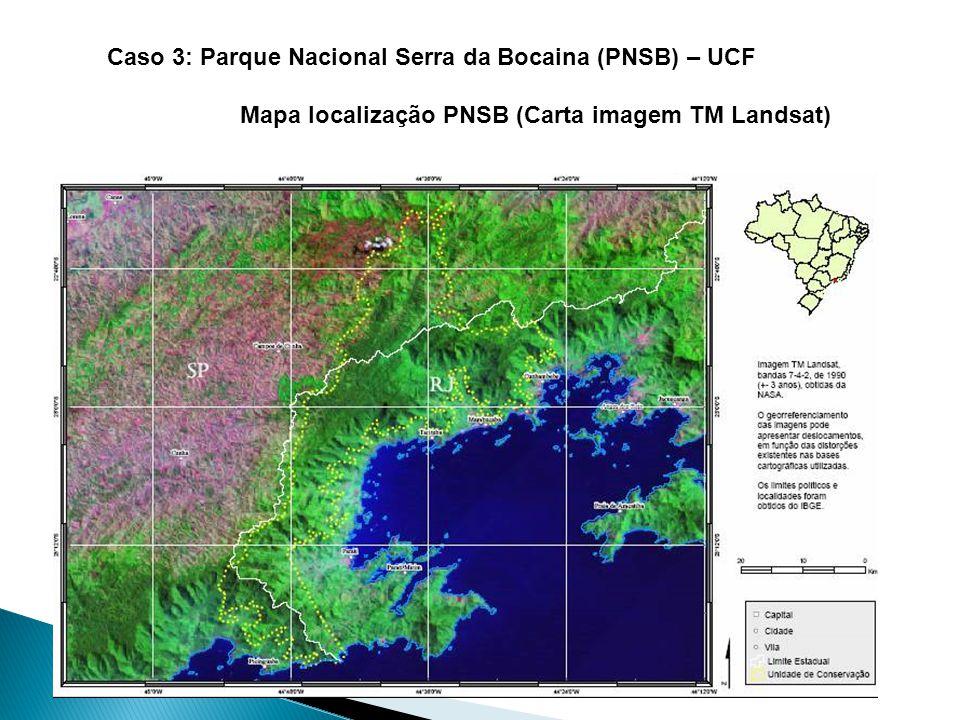 Caso 3: Parque Nacional Serra da Bocaina (PNSB) – UCF