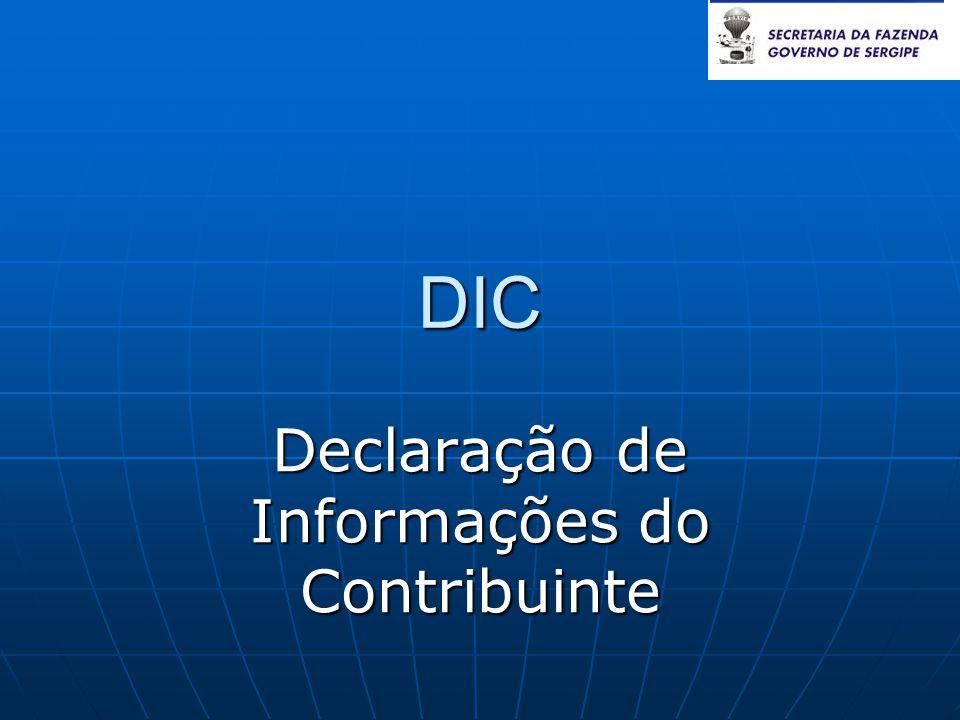 Declaração de Informações do Contribuinte