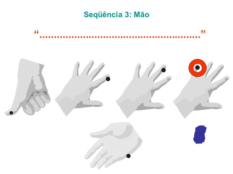 Seqüência 3: Mão ........................................................ 5 6 4 7 1 2 3