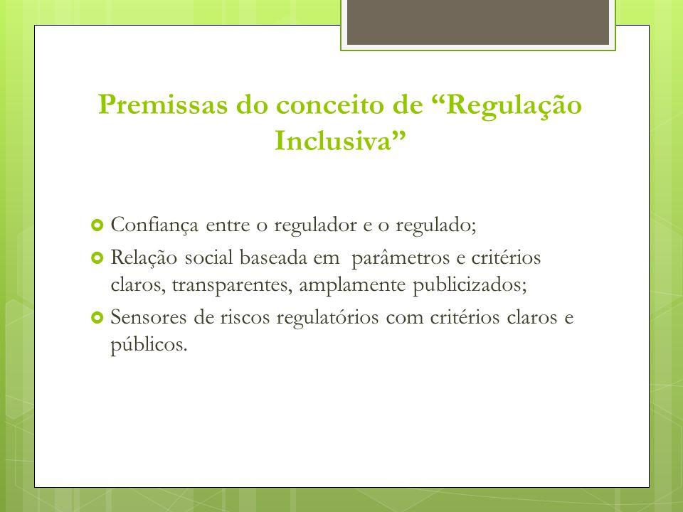 Premissas do conceito de Regulação Inclusiva