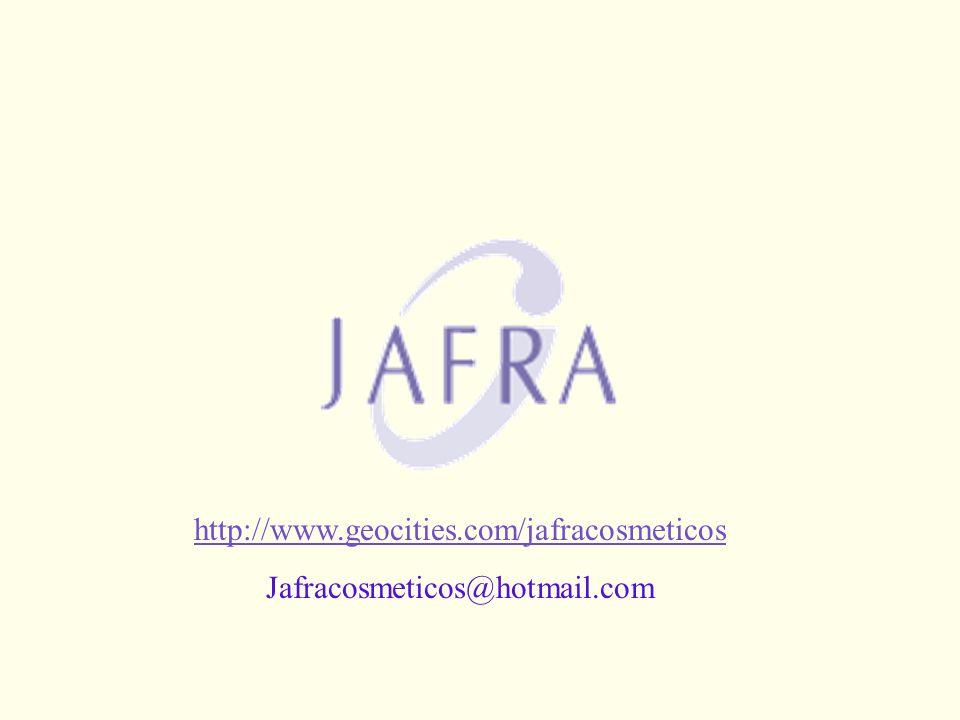 PRÓXIMOS PASSOS http://www.geocities.com/jafracosmeticos