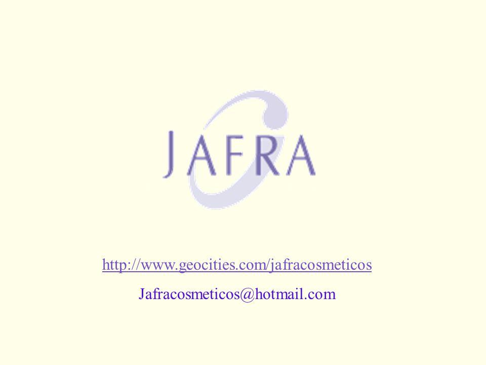 SUAS PERGUNTAS http://www.geocities.com/jafracosmeticos
