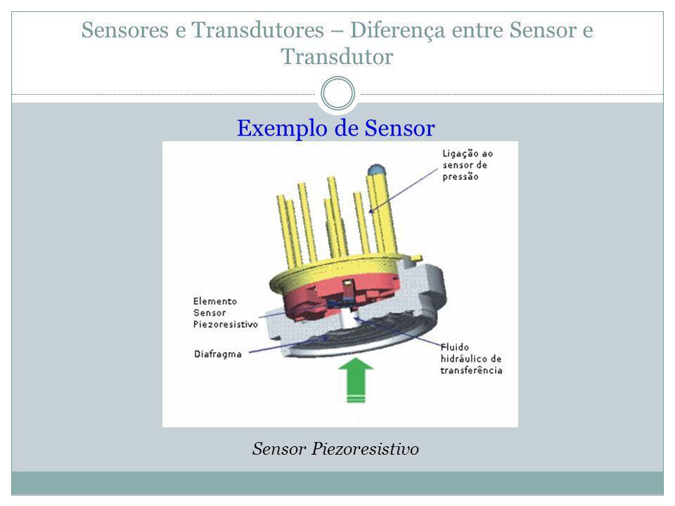 Sensores e Transdutores – Diferença entre Sensor e Transdutor