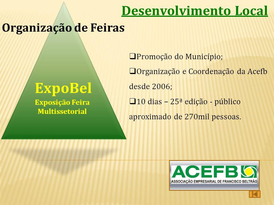 ExpoBel Desenvolvimento Local Organização de Feiras