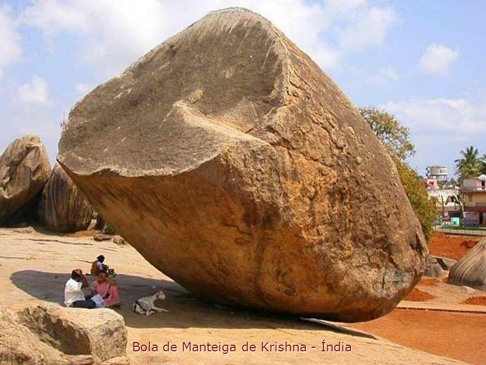 Bola de Manteiga de Krishna - Índia