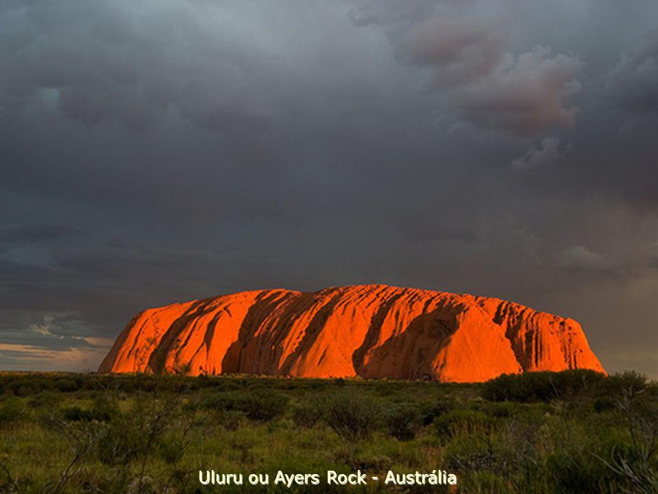 Uluru ou Ayers Rock - Austrália