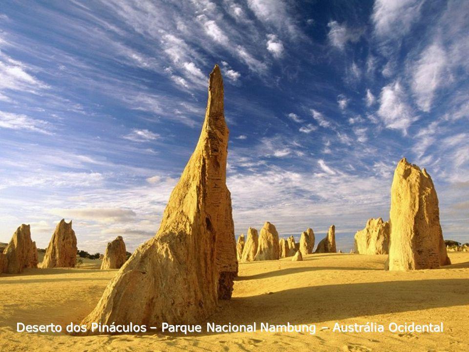 Deserto dos Pináculos – Parque Nacional Nambung – Austrália Ocidental