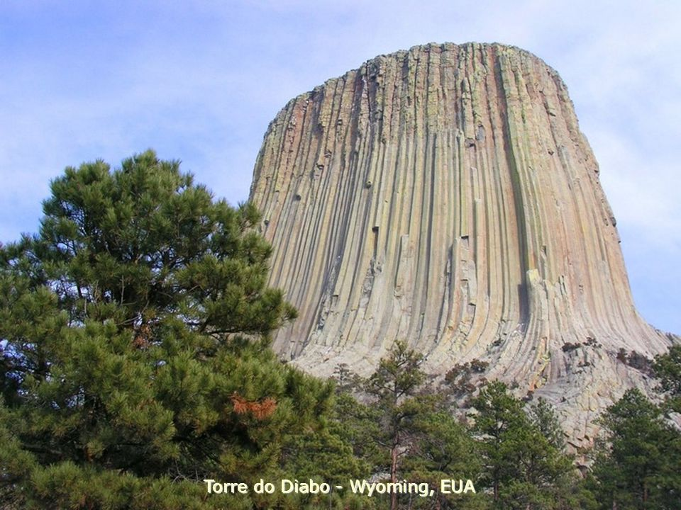 Torre do Diabo - Wyoming, EUA