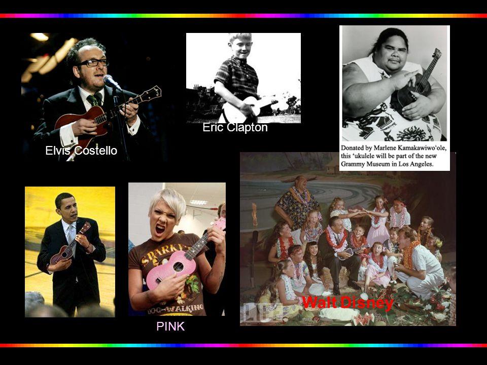 Eric Clapton Elvis Costello Walt Disney PINK