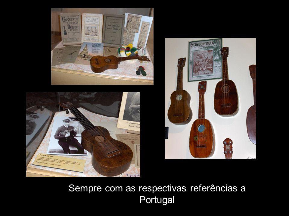 Sempre com as respectivas referências a Portugal
