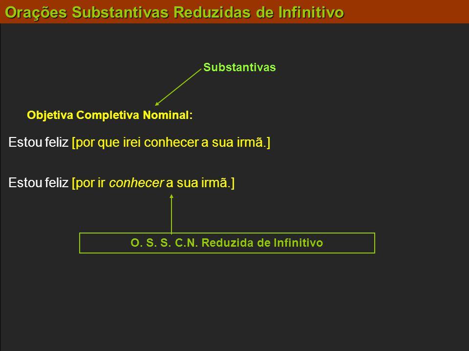 Objetiva Completiva Nominal: