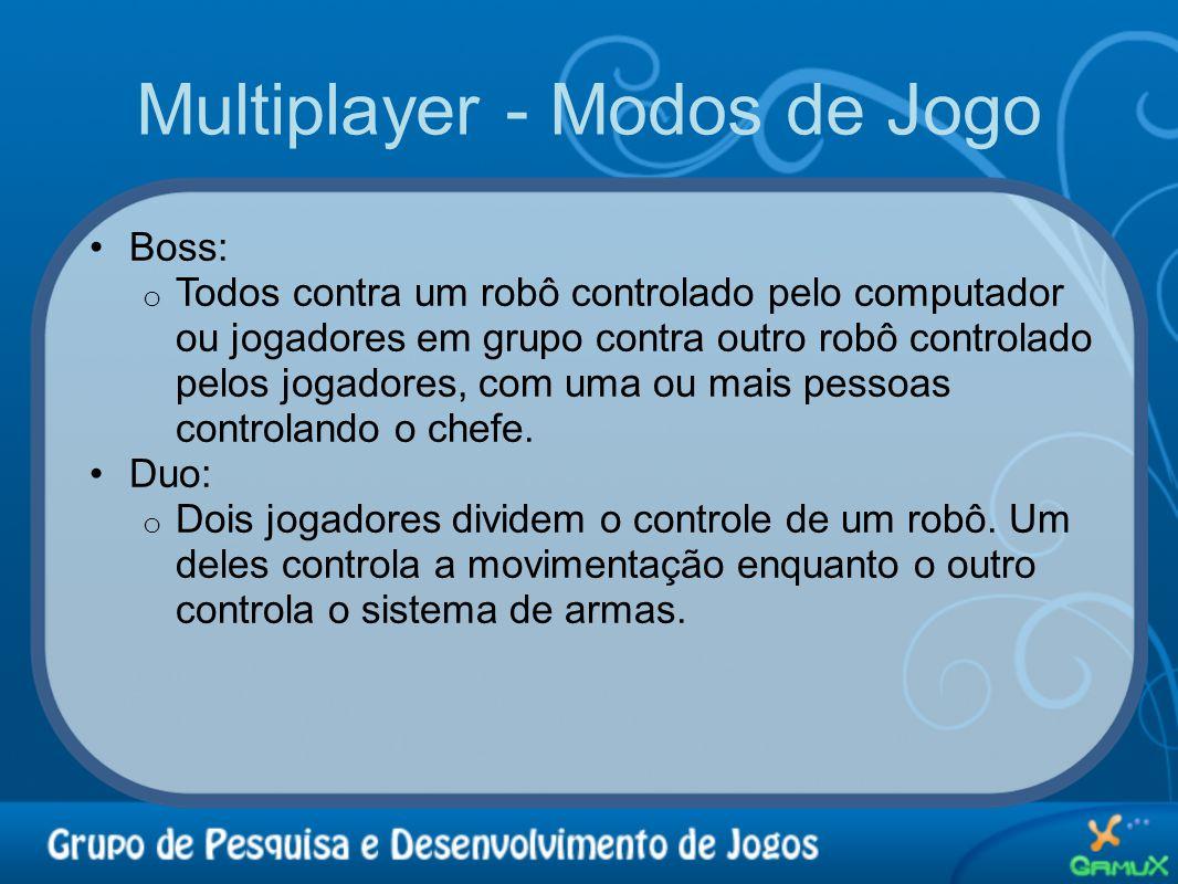 Multiplayer - Modos de Jogo