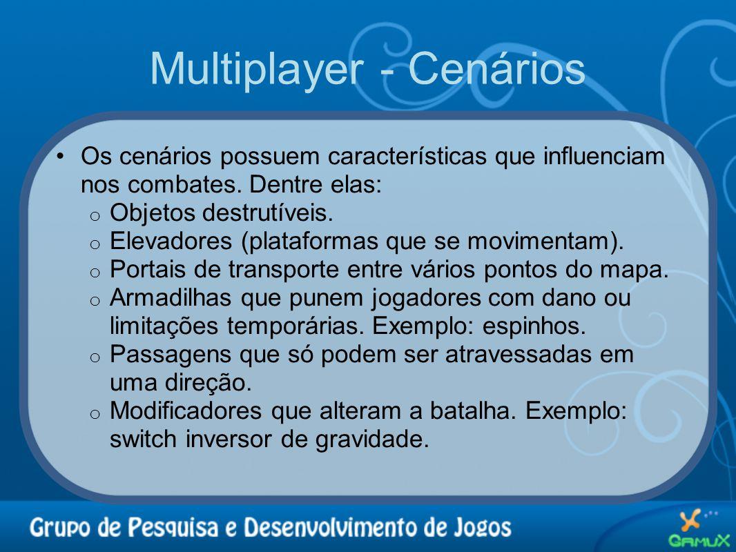 Multiplayer - Cenários