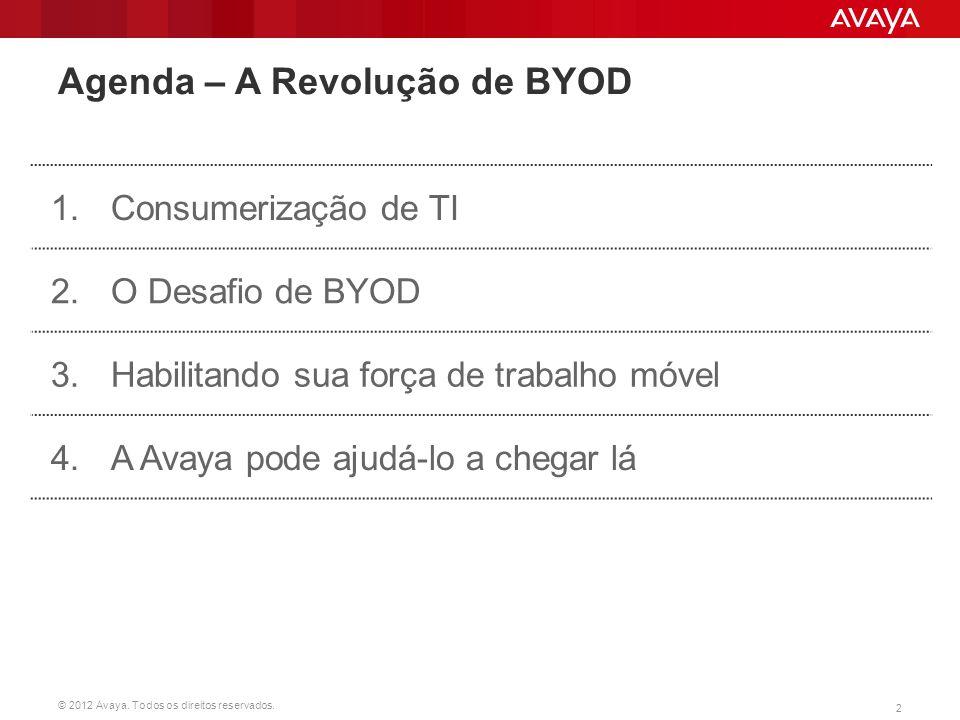 Agenda – A Revolução de BYOD