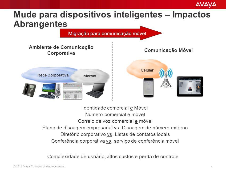 Mude para dispositivos inteligentes – Impactos Abrangentes