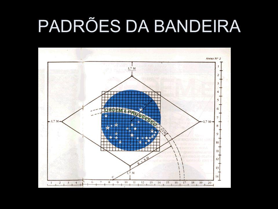 PADRÕES DA BANDEIRA