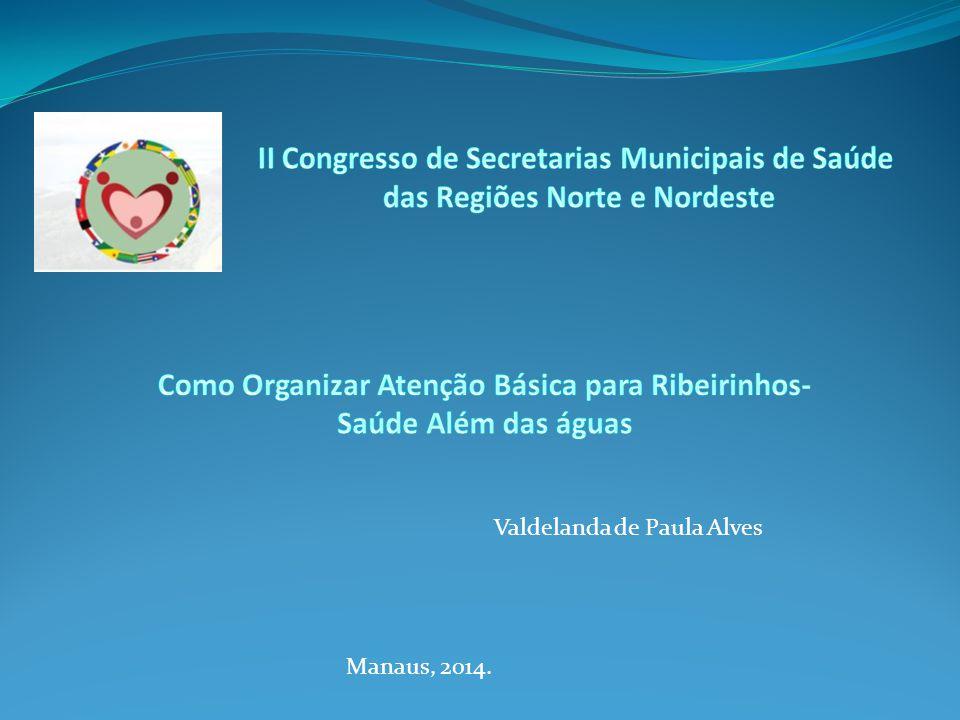 II Congresso de Secretarias Municipais de Saúde