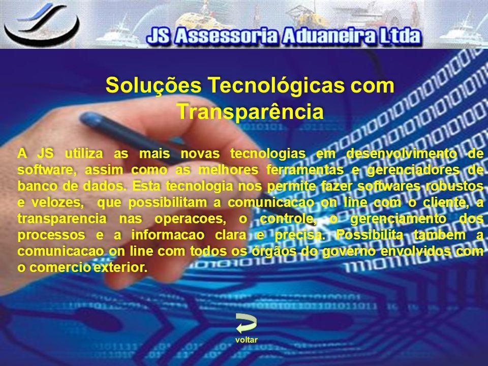 Soluções Tecnológicas com Transparência