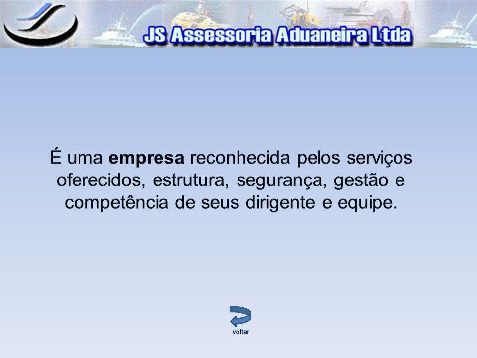 É uma empresa reconhecida pelos serviços oferecidos, estrutura, segurança, gestão e competência de seus dirigente e equipe.