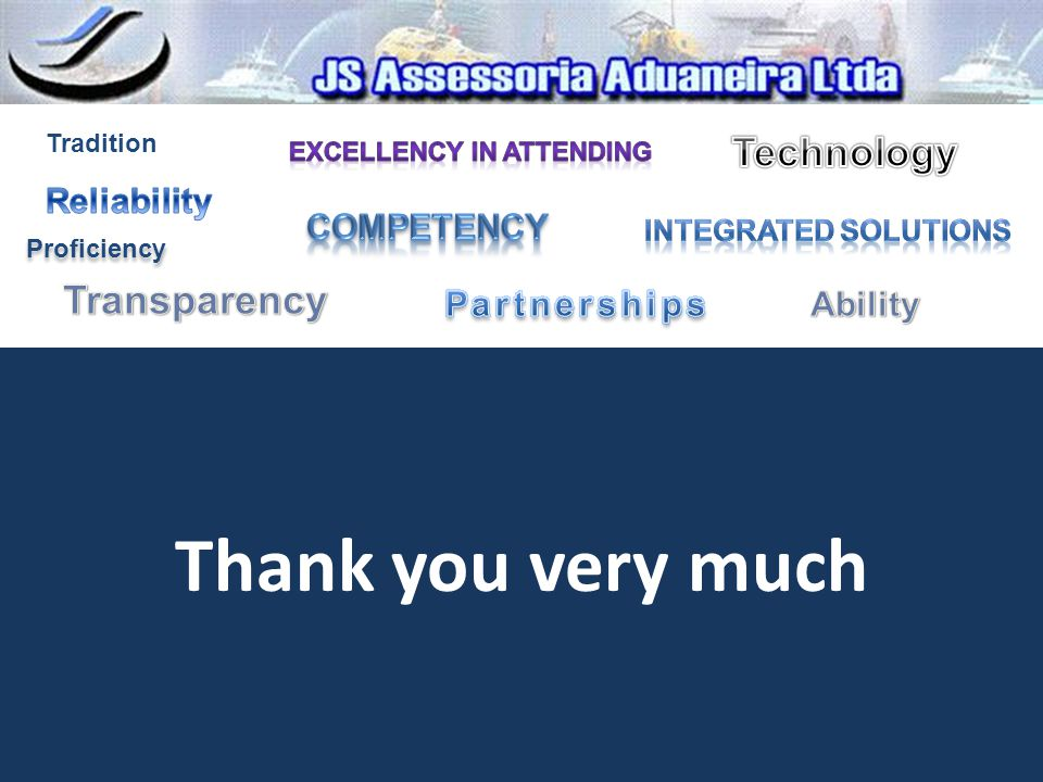 Thank you very much Technology Transparency Reliability Competency