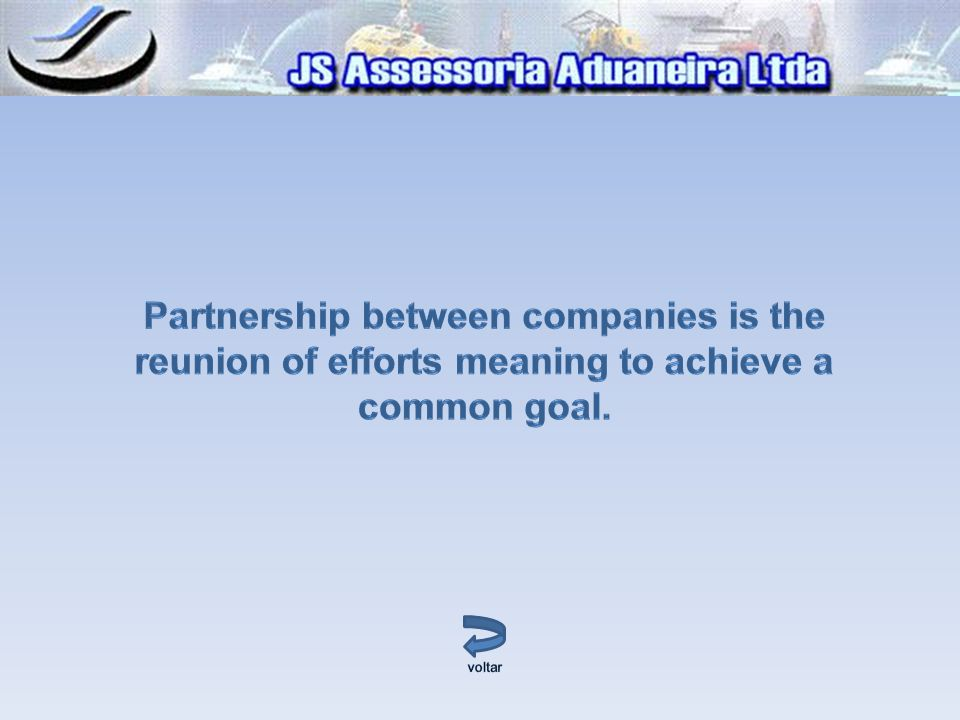 Partnership between companies is the reunion of efforts meaning to achieve a common goal.