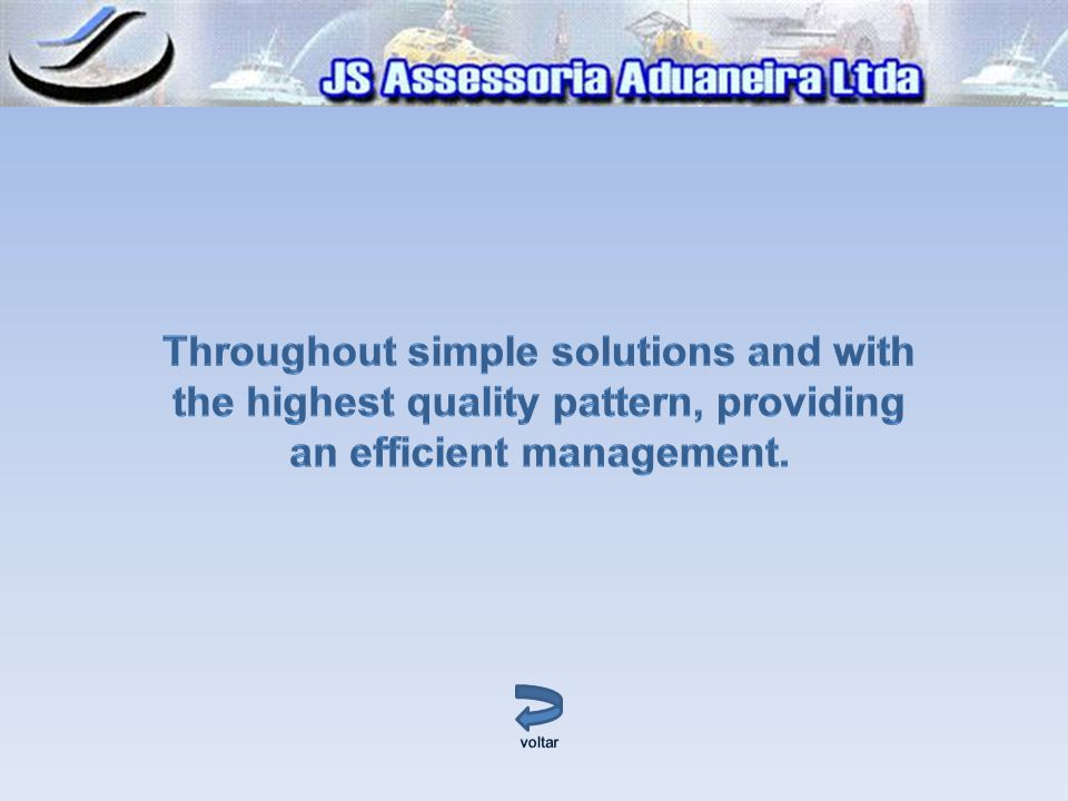 Throughout simple solutions and with the highest quality pattern, providing an efficient management.