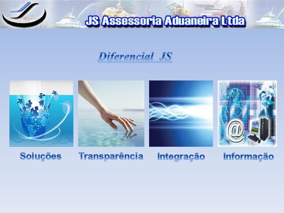 Diferencial JS Soluções Transparência Integração Informação