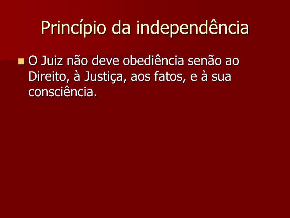 Princípio da independência